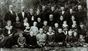 Die Familie Wedel 1925.