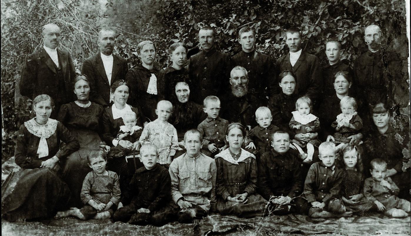 Familie Jakob Wedel aus Alexanderwohl/Ukraine