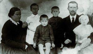 Die Familie Wedel 1936.
